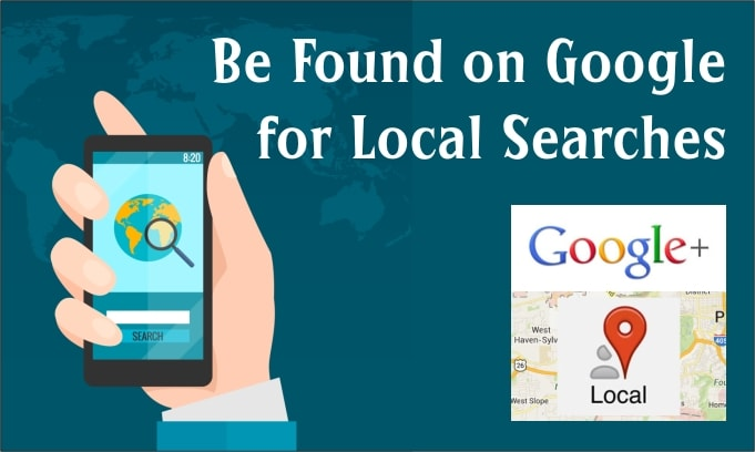 Top of Google local search