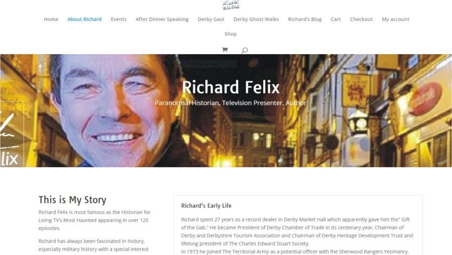 New website for Richard Felix